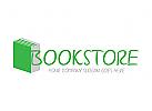 Bücher, Buchhandlung, Bibliothek Logo