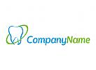 Zahn, Zahnarzt, Klinik, Arzt Logo
