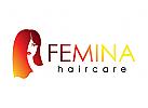 Friseur, Haare, Make-up, Schönheit, Frau, Kosmetik, Logo
