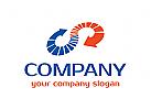 Pfeil, Finanzen, Business, Bank, Verbindungen, Investieren, Markt, Logo