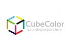 Würfel, Farbe, Software, Spiele, drucken, Pfeil, Logo