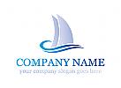 Jacht, Schiff, Segeln, Segeln, Meer, Meer, Tourismus, Reisen, Logo