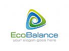 Ökologie, Natur, Wasser, Recycling, Umwelt, grün, Zyklus, Logo