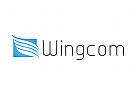 Zeichen, Signet, Logo, Flügel, Wing, Rechteck