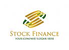 Finanzen, Bank, Geld, Gold, Investition, Makler, Markt, Metall, Börse, Geld, Wechselkurs, Logo