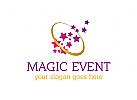 Ereignis, Hochzeit, Mode, Feiern, Schmuck, Kleidung, Liebe, Fürsorge, Traum, Sterne, Logo