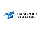Pfeil, Transport, Import, Export, Logistik, Logo