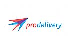 Transport, Lieferung, Pfeil Logo