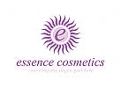 Kosmetik, Sch�nheitspflege, Blumen, Logo