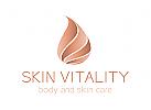 Skin,Kosmetik, Haut, Hautarzt, Sahne, �l, Pflege, Logo