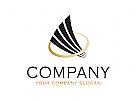 Flügel, Investitionen, Markt, Immobilien, Logo