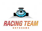 Rennwagen Logo