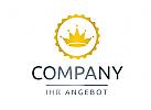 Logo mit Krone