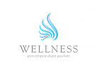 Logo Wellness, Wasser, Kosmetik