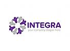 Logo Gruppe, Menschen, Integration