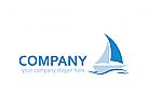 Logo Schiff, Meer