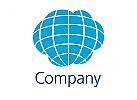 Welt Wolke Logo