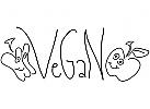 """""""Vegan"""" Gem�se-Logo"""