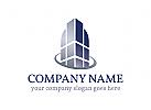 zwei, Immobilien, Architektur Logo