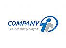 Person, Kreis Logo