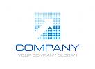 Pfeil, Markt, Finanzen, Investitionen Logo