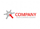 Pfeil, Vertrieb, Transport, Logo