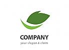Natur Blatt Logo