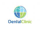 Zahnarzt, Zahn Logo