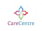 Menschen, Personen, Gruppen, Pflege, Kinder Logo