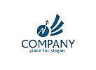 Logo Finanzdienstleistung, Logo Investment, Logo Diensleistung
