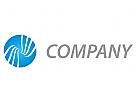 Kreis und Wellen Logo