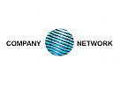 Zeichen, Signet, Logo, Kugel, Netzwerk, Logo