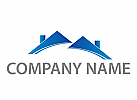 Zwei D�cher, H�user Logo