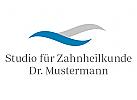 Logo, Zahnarzt, Dental, Welle
