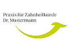 Logo, Zahnarzt, Dental, Smile, Pflanze