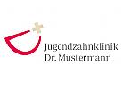 Logo, Zahnarzt, Dental, Smile