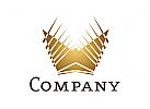 Logo Krone abstrakt