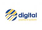 Digital, Zahlung, Geld, Geldbörse Logo