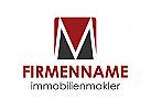 Zeichen M, Buchstaben M Logo