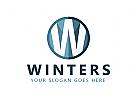 Zeichen W, Buchstaben W Logo