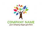 natur, �kologie, baum, blatt logo