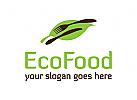 Essen, Blatt, Bio, vegetarisch logo