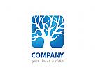 Blauer Baum Logo