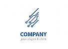 Elektronik Blau Logo