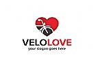 Fahrrad-Liebe Logo