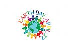 erde Logo, welt,  planet, ökologie, natur