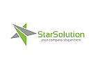 Sterne Logo, Investitionen, Finanzen, Erfolg, Geld