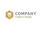 Modernes Logo, L�we
