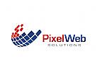 Internet, Computer, Technologie Logo