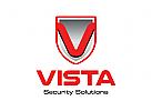 Schild, Sicherheit Logo